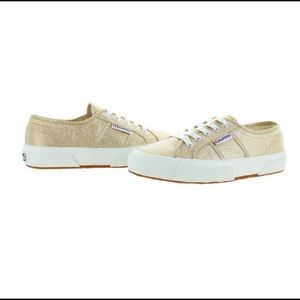 Superga Gold Sneakers